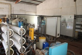 Resolvido problema de produção de água